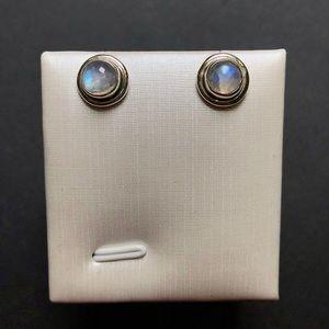 Moonstone 925 sterling silver earring